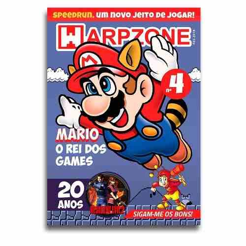 Revista Warpzone N°4 Super Mario Bros