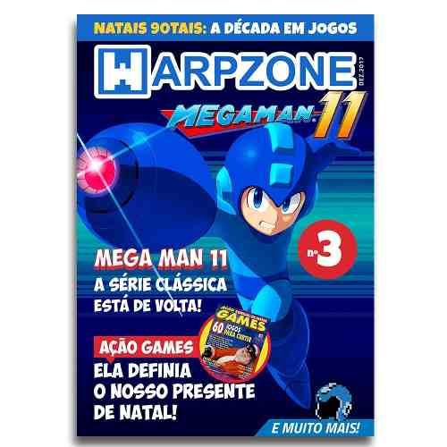 Revista Warpzone N°3 Megaman 11