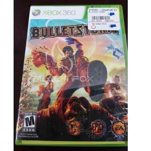 Bulletstorm Xbox 360 Original Completo Midia Física