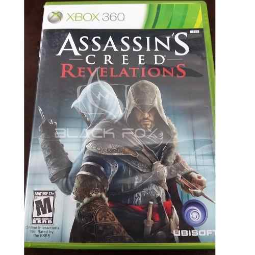 Assassins Creed Revelations Xbox 360 Original Midia Fisica