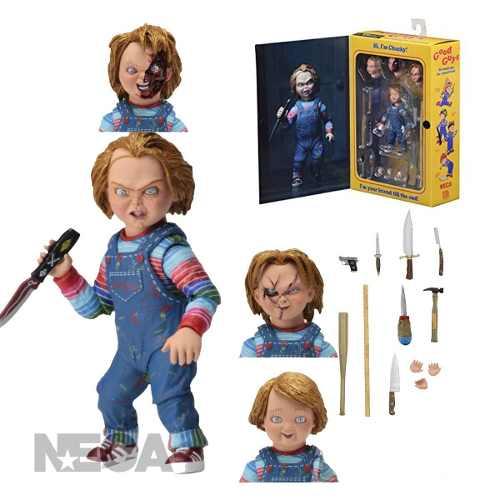 Boneco Chucky Good Guys Neca Ultimate Boneco Assassino