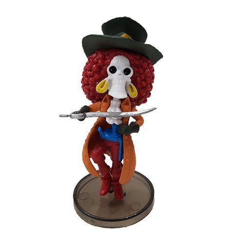 Boneco Brook Action Figure Estátua One Piece  Red