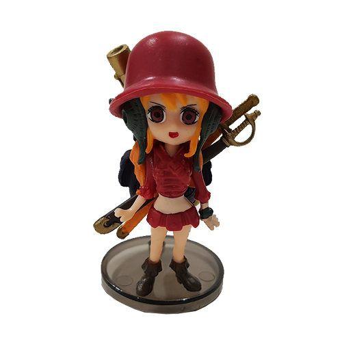 Boneco Nami Action Figure Estátua One Piece Red