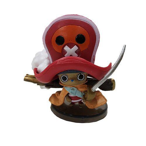 Boneco Tony Chopper Action Figure Estátua One Piece Red
