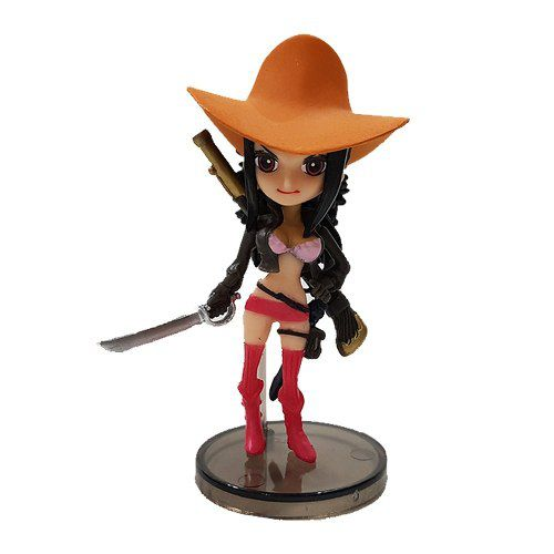 Boneco Nico Robin Action Figure Estátua One Piece Red