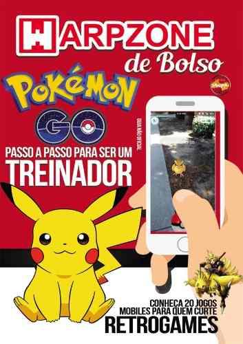 Revista Pokemon Go Warpzone De Bolso
