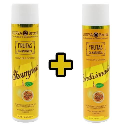 Kit Shampoo + Condicionador Maracujá E Copaíba - Surya
