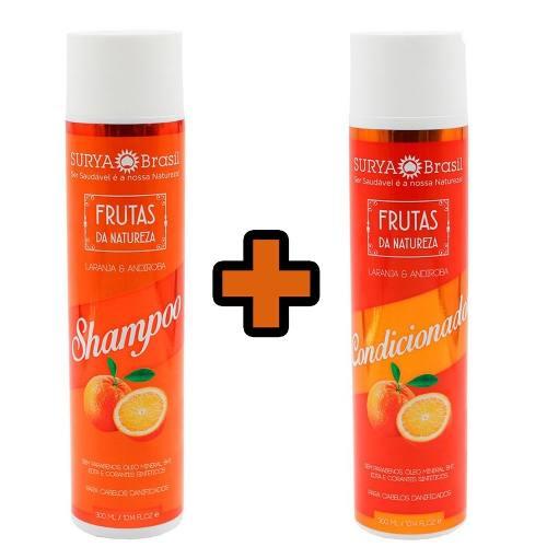 Kit Shampoo + Condicionador Laranja E Andiroba - Surya