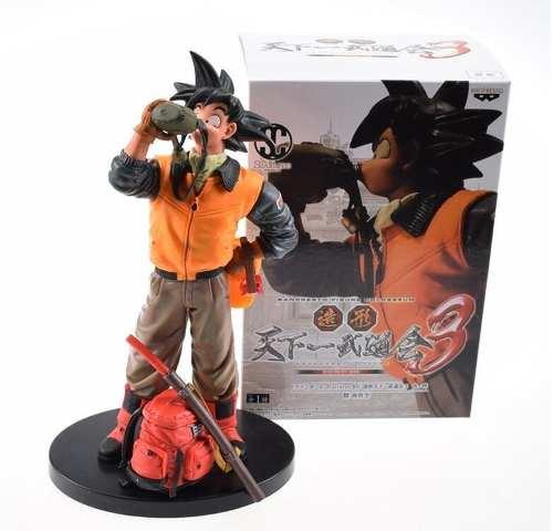 Goku Estátua Dragon Ball Banpresto Bebendo Água - Na Caixa