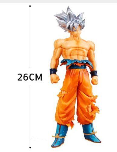 Estátua Goku Instinto Superior 26 Cm Dragon Ball Super Z