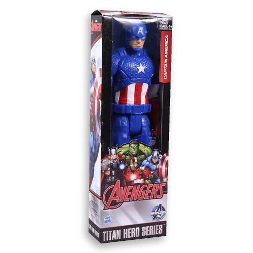 Capitão América Boneco Hasbro Marvel Vingadores Avengers