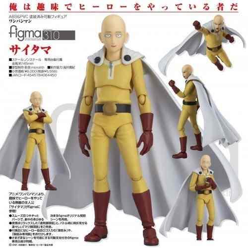Estátua One Punch Man Saitama Max Factory Na Caixa Novo 310