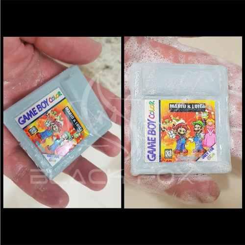 Sabonete Artesanal Limão Kit Com 3 Unidades Game Boy Snes