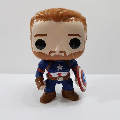 Boneco Capitão América Vingadores Avengers Marvel