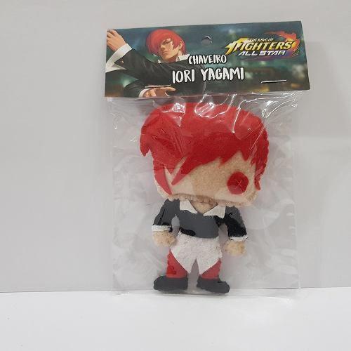 Chaveiro Iori Yagami Kof The King Of Fighters Snk Feltro