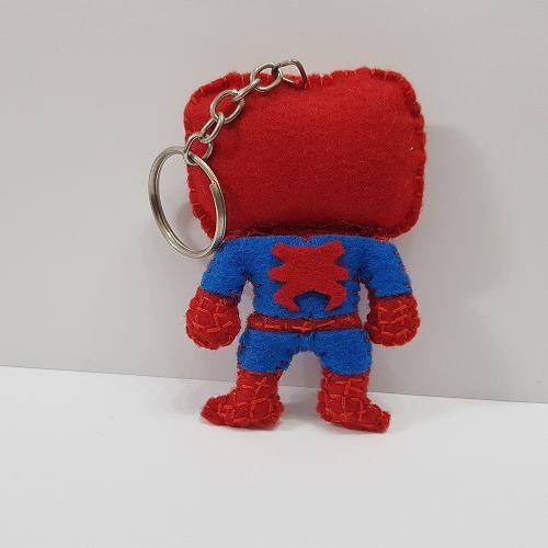 Chaveiro Spiderman Homem Aranha Marvel Vs Capcom Feltro