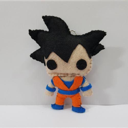 Chaveiro Goku Adulto Dragon Ball Z Super Dbz Feltro