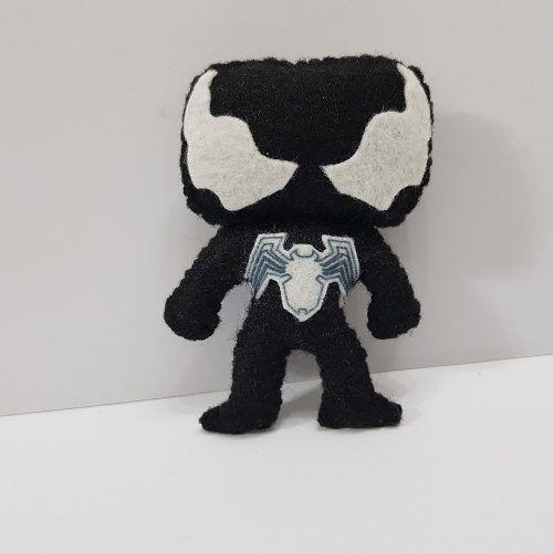 Chaveiro Venom Homem Aranha Marvel Vs Capcom Infinite Feltro