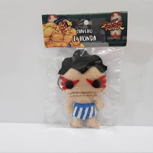 Chaveiro E Honda Street Fighter Sf Capcom Feltro