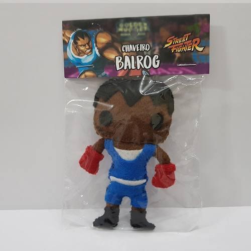Chaveiro Balrog Street Fighter Sf Capcom Feltro