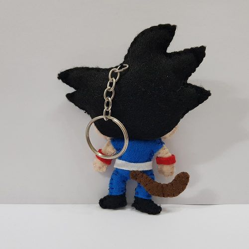 Chaveiro Goku Classico Dragon Ball Z Super Dbz Feltro