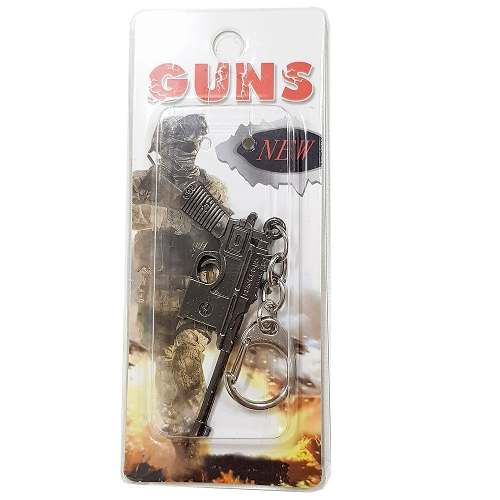 Chaveiro Arma Cross Fire Guns Metal Modelo 08