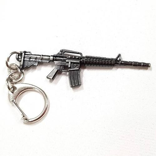 Chaveiro Arma Cross Fire Guns Metal Modelo 11