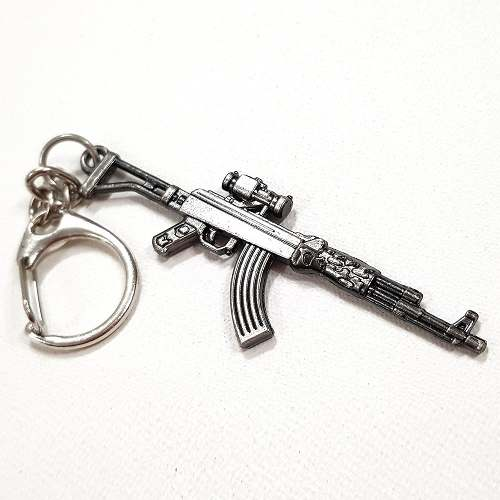 Chaveiro Arma Cross Fire Guns Metal Modelo 15