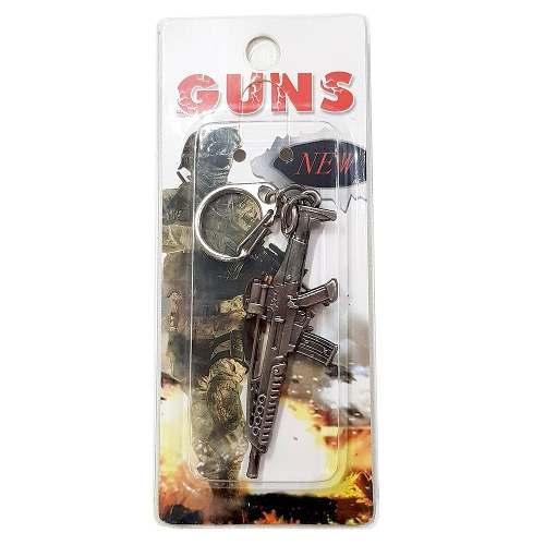 Chaveiro Arma Cross Fire Guns Metal Modelo 18