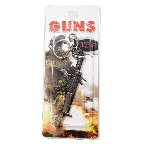 Chaveiro Arma Cross Fire Guns Metal Modelo 20