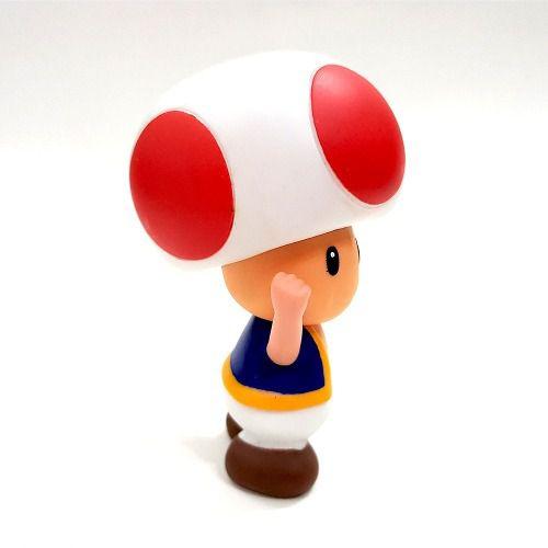 Boneco Toad Super Mario Bros Cogumelo