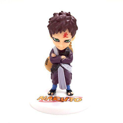 Boneco Gaara Naruto Action Figure Anime Mod 01