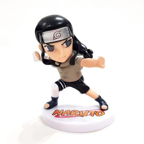 Boneco Neji Action Figure Coleção Anime Naruto