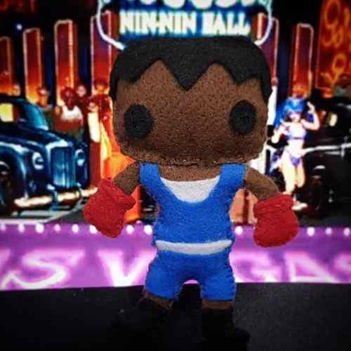 Boneco Balrog Street Fighter Pelúcia