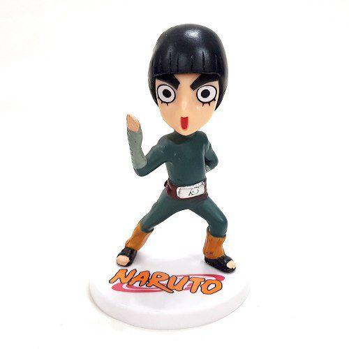 Boneco Rock Lee Anime Naruto Action Figure Coleção Mangá