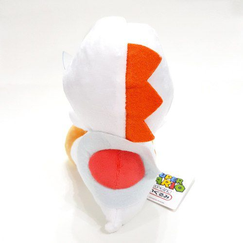 Pelúcia Yoshi Branco - Série Super Mario