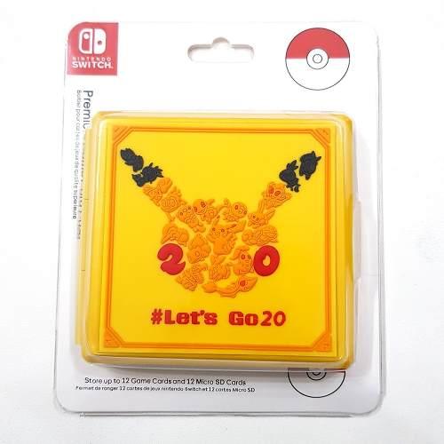 Case Game Card Hori Cartão Memoria Nintendo Switch Pikachu