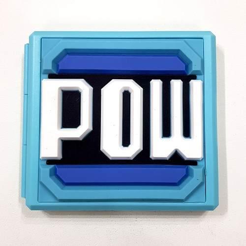 Case Game Card Hori Cartão Memoria Nintendo Switch Pow Mario