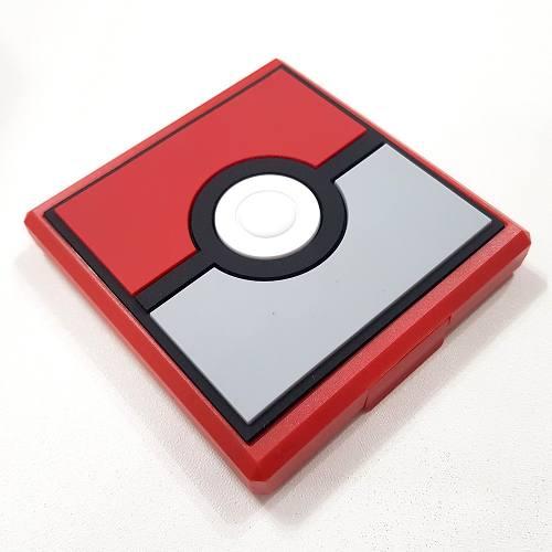 Case Game Card Hori Cartão Memoria Nintendo Switch Pokebola