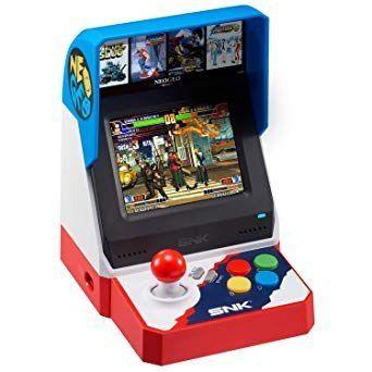 Video Game Neogeo Mini Arcade Snk 40th + 2 Controles Lacrado
