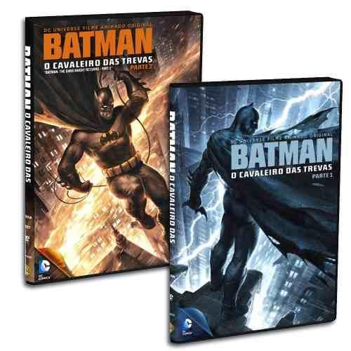 Kit Dvd Batman O Cavaleiro Das Trevas N° 1 E 2 Dark Knight