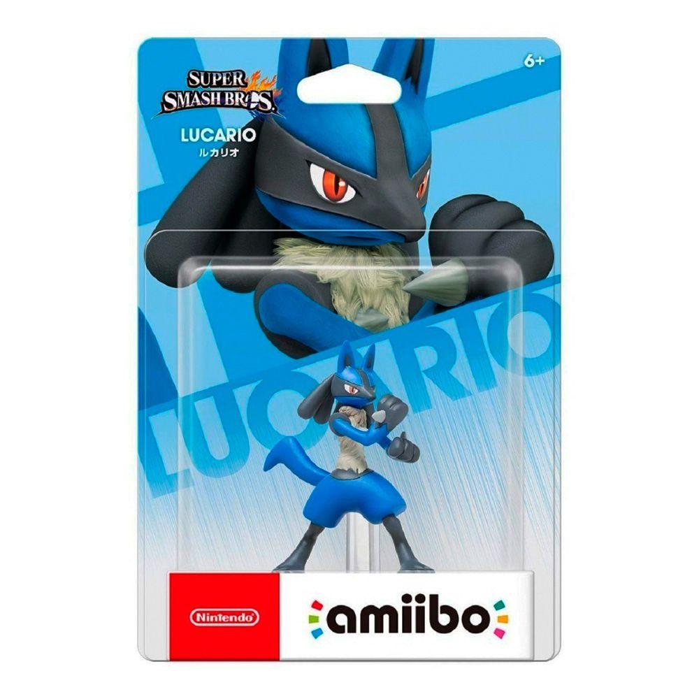 Amiibo Original Pronta Entrega Lucario Smash Bros Lacrado