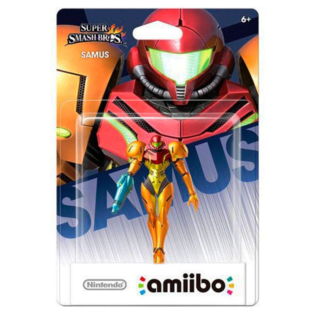 Amiibo Original Pronta Entrega Samus Smash Bros Lacrado