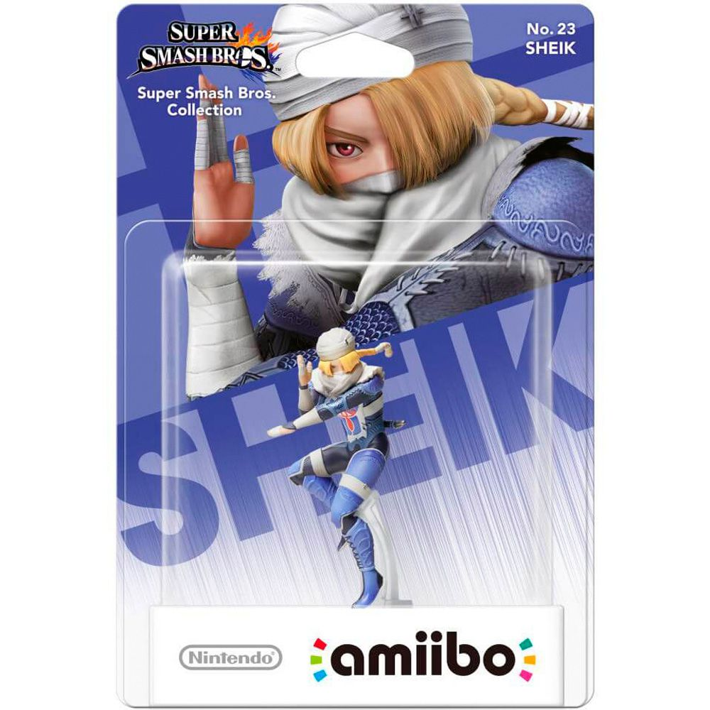 Amiibo Original Pronta Entrega Sheik Smash Bros Lacrado