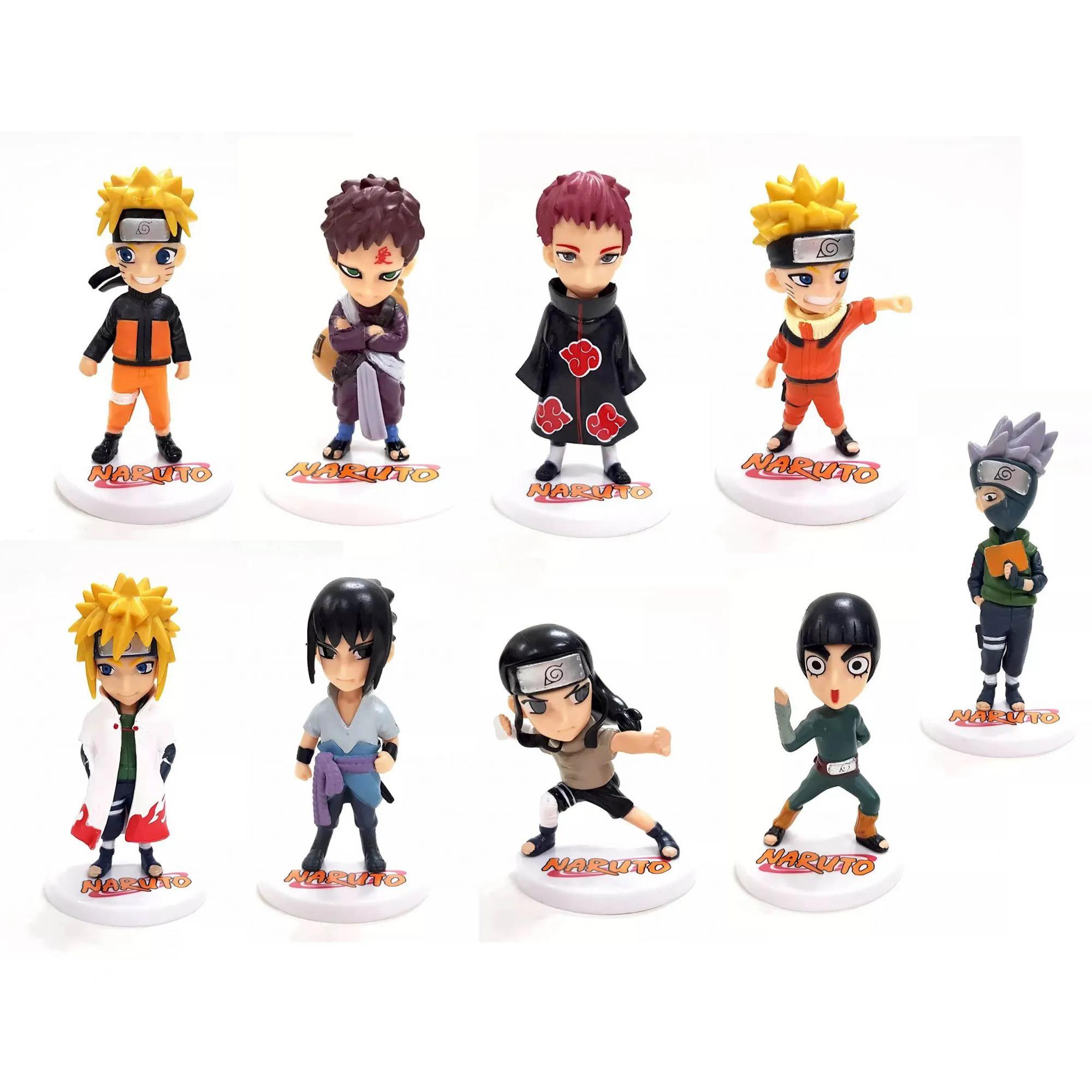 Boneco Action Figure Anime Série Naruto
