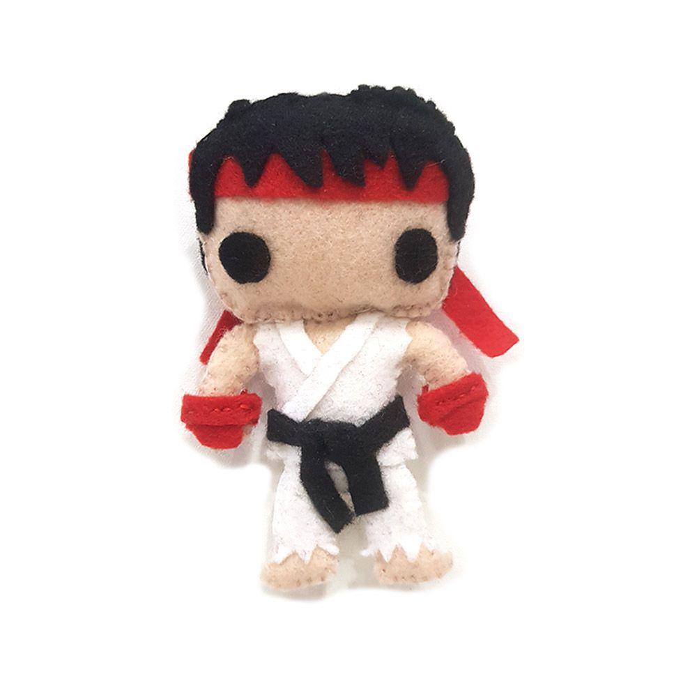 Boneco Ryu Street Fighter Pelúcia