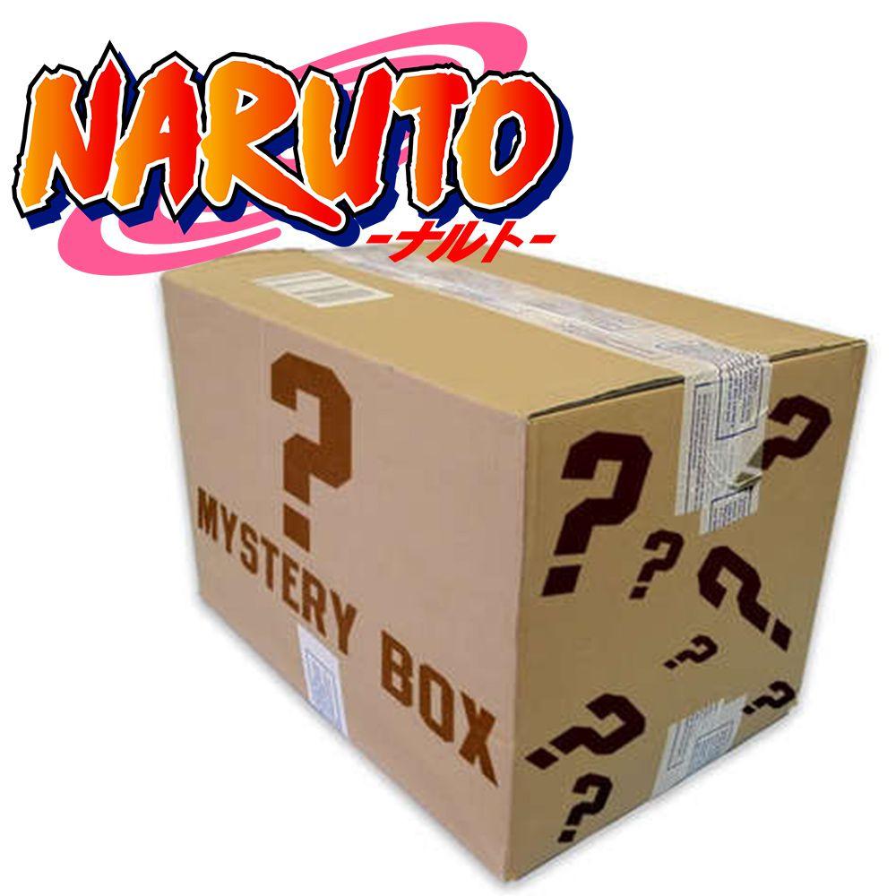 CAIXA MISTERIOSA MYSTERY BOX SURPRESA NARUTO