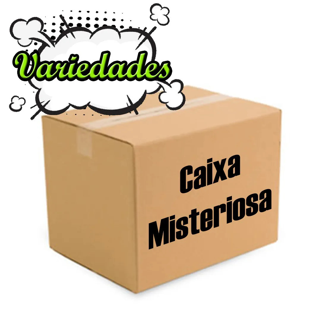 CAIXA MISTERIOSA MYSTERY BOX SURPRESA VARIADOS