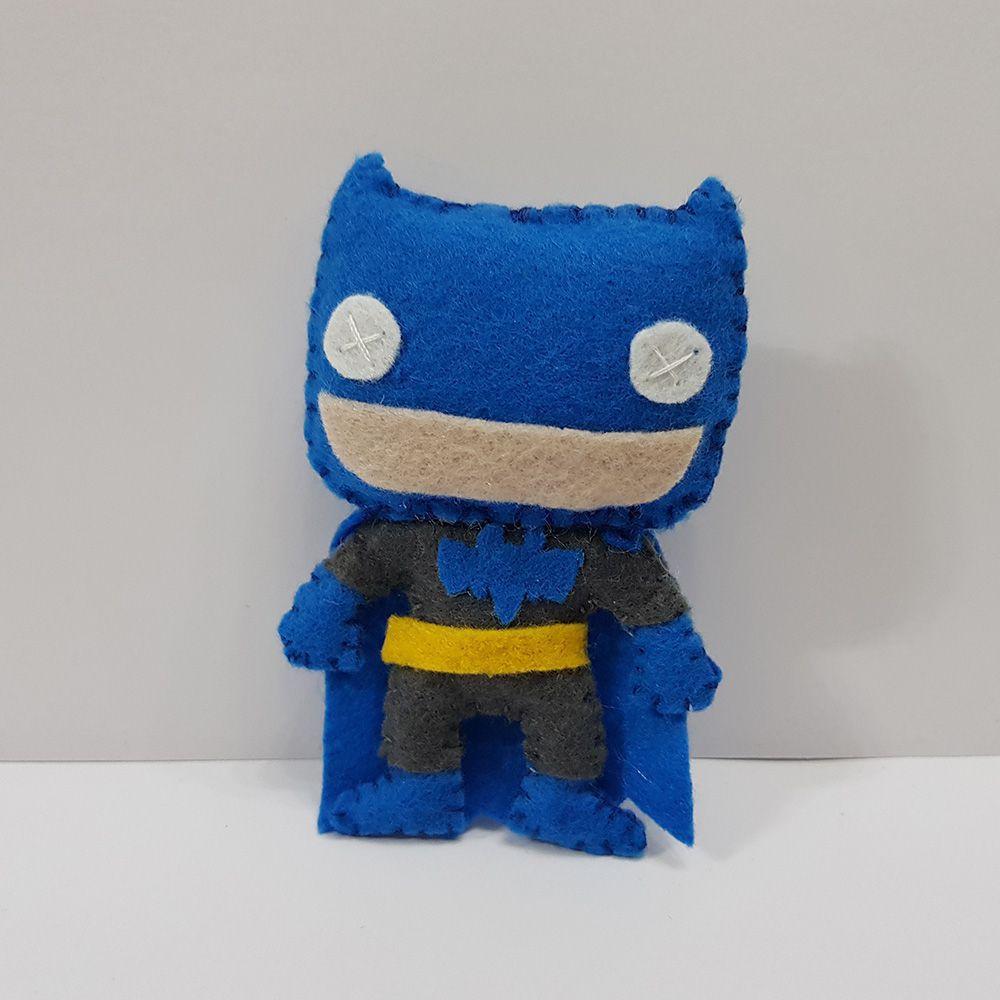 Chaveiro Batman Blue Azul Dc Liga Da Justiça