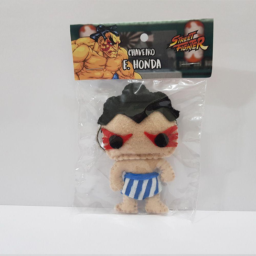 Chaveiro E Honda Street Fighter Sf Capcom